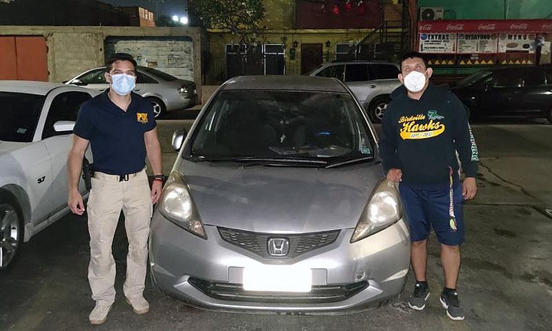 """Detectives de la Biro recuperaron dos vehículos que habían sido sustraídos a sus dueños mediante """"portonazo"""" y """"abordazo"""""""