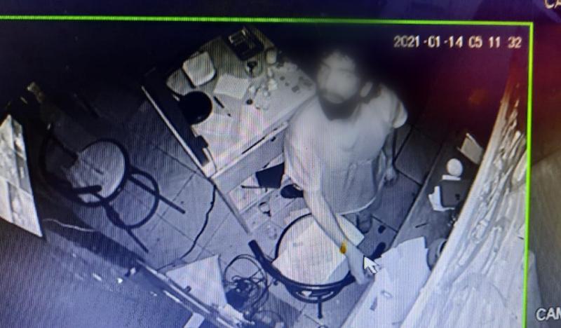 Cámaras de vigilancia delataron a sujeto que robó en local comercial del centro