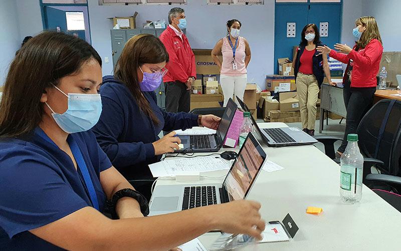 Seremi de Salud reforzó equipos de testeo, trazabilidad y aislamiento ante el aumento de casos de Covid-19