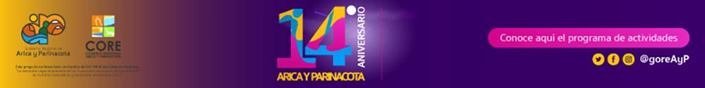 Aniversario 14 Región de Arica y Parinacota